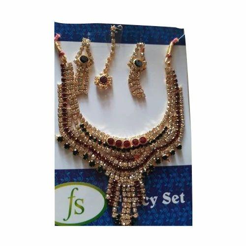 Festive Wear Imitation Necklace Sets
