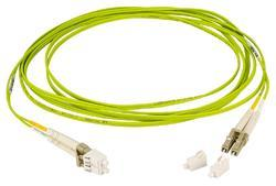 Lime Green OM5 Fiber Patch Cords
