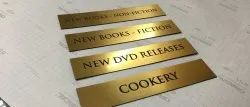 Brass Engrave Name Plates