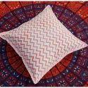 Block Print Cushion Cover