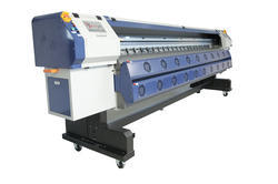 Wide Format Solvent Flex Printing Machine, Model Name/Number: KM512, Print Speed: 1200 Sq.ft