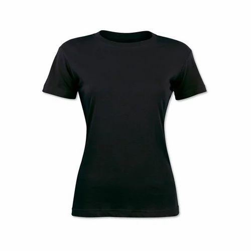 95767b13 Bare Denim L And XXL Plain Ladies T-Shirt, Rs 300 /piece | ID ...