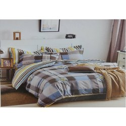 Mercury Printed Double Bed Sheets