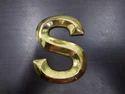 Brass Metal Letters