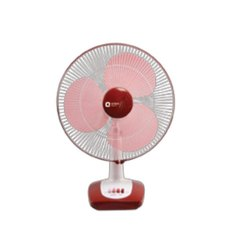 ORIENT 3 Desk 26 Crimson Red-White Table Fan, Model Name/Number: DEKS 25