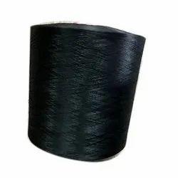 80/72 Black Roto Polyester Textured Yarn