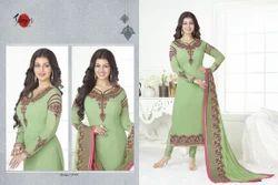 Full Sleeve Suhati Salwar Suit Fabric