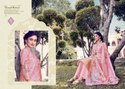 Alora-Ridhhi Siddhi Fashion Pure Banaras Jacquard With Digital Printed Fancy Salwar Suits