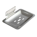 Rashi Industries Silver Ss Soap Dish, Shape: Square