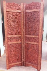 OWN Antique Wooden Sheesham Screens And Partitions, Rectangular, Size: 6.5 Ft