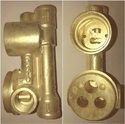 BRASS DIVERTER  HIGH FLOW  BODY
