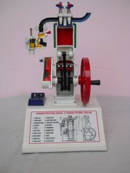 Petrol Engine 4 Stroke Model