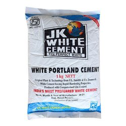 OPC (Ordinary Portland Cement) JK White Cement, Packaging Size: 1 kg