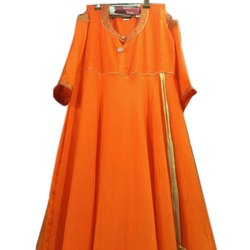 3/4th Sleeve Ladies Party Wear Rayon Kurti, Size: M-5XL, Wash Care: Machine wash