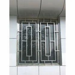 Silver Iron M.s Window Grill