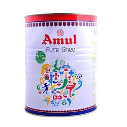 Amul 1 kg Pure Ghee, Packaging: Tin Jar