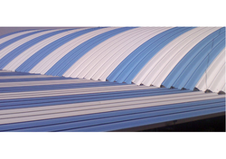 Metal Corrugated Curved Roofing Sheet