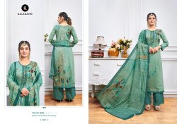Kessi Fabric Jam Silk Digital Printed Embroidered Salwar Kameez