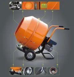 Tilting 1.5 Hp Mini Concrete Mixer Machine