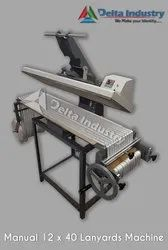 ID Card Lanyards Printing Machine