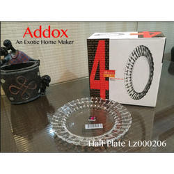 Addox Cold Cuts Serving Glass Plates