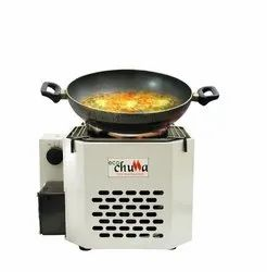 Mild Steel Biomass Fuel Stove, For Cooking, Size: 2 X 2 X 2.5 Feet