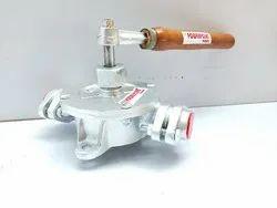 3/4 Aluminium Semi Rotary Hand Pump