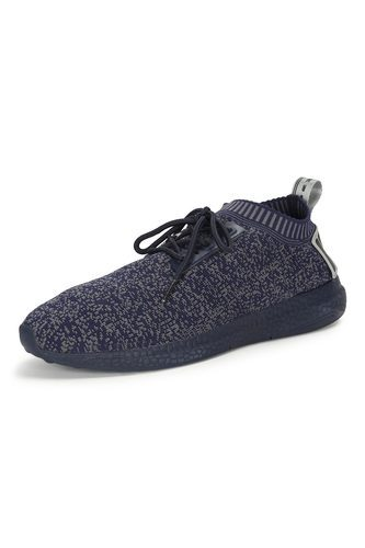 Casual Peter England Navy Shoes, Size