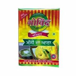 Indian Vegetarian Gobind Gold Maize Flour, 1 Kg, Packaging Type: Packet