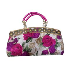 Printed Nylon Ladies Hand Bag