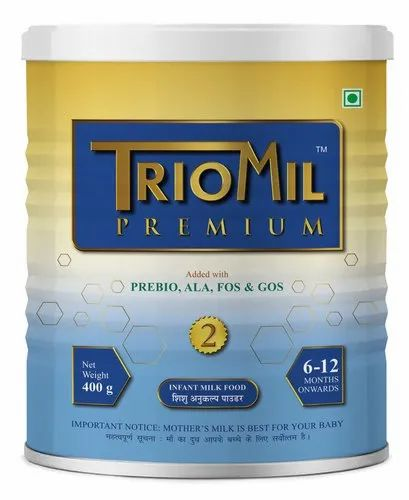 Triomil Premium 2 - Infant Milk Formula, Packaging Type: Tin, Pack Size: 400g
