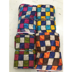Box Print Rayon Fabric