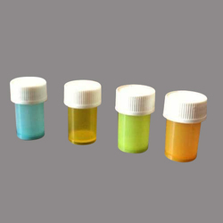 1/2 Dram Colorful Homeopathic Plastic Bottle