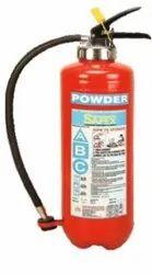 Safex ABC Squeeze Grip Cartridge Type Fire Extinguishers- 04kg