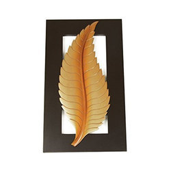 Handicrafts Leaf Wooden Scenery