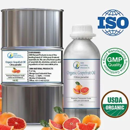 Organic Grapefruit Oil