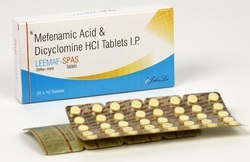 Mefenamic Acid 250 Mg Dicyclomine 10 Mg Tablets