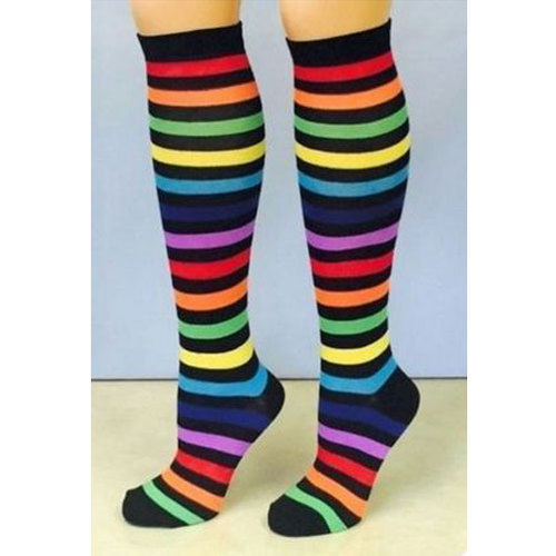 79a0c3050fb Cotton SOBER Womens Fancy Knee High Socks