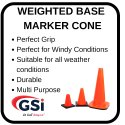 Top Slit Marker Cone with Hole