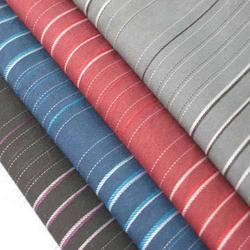 Polyester Viscose Yarn Dyed Shirting Fabric
