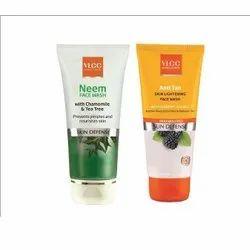 VLCC Neem Anti Tan Skin Lightening Face Wash, Packaging Type: Tube