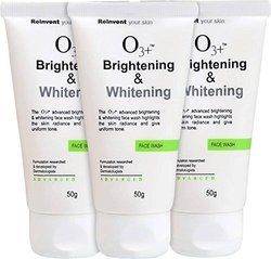 O3 Brightening & Whitening Face Wash Face Wash Pack of 3 (150GM)