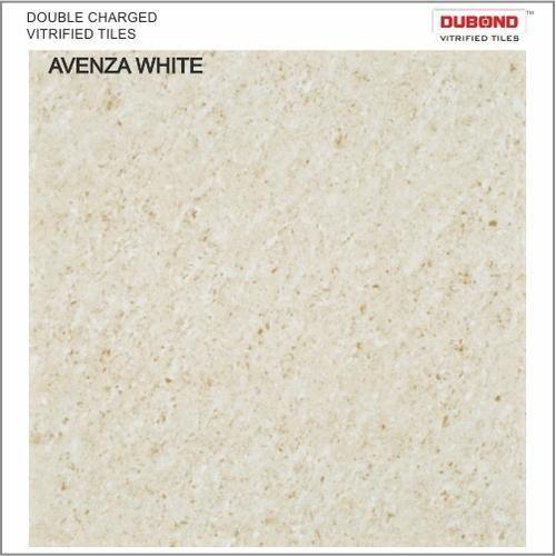 Dubond White Vitrified Floor Tiles