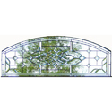 Designer Arched Window Glass