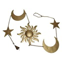 Iron Sun Moon Star Hanging