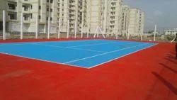 Outdoor Unique Sports Synthetic Flooring