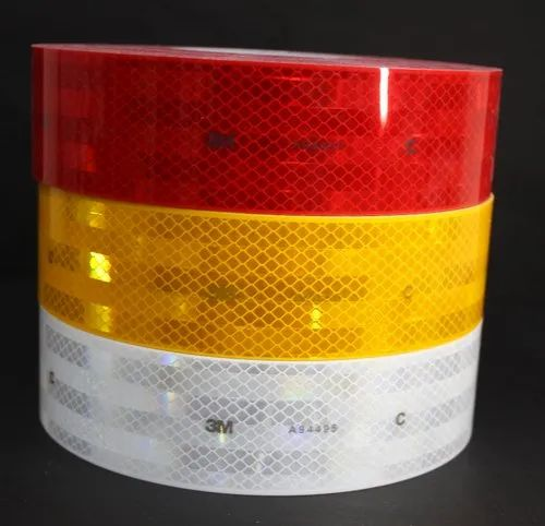 "3M BRAND # 943 GOLD FLEXIBLE Reflective Grade Conspicuity  Tape 2/"" x 25 feet"
