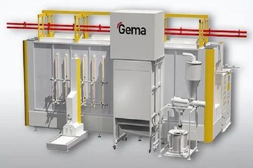 Automatic Powder Coating Plant