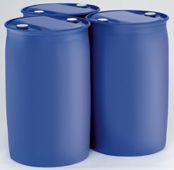 Blue Container Drums for Petrochemical Industry, Capacity: 60-200 Litre