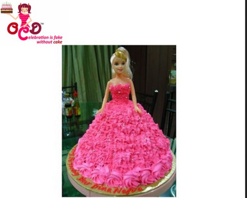 Barbie Doll Cake Children S Cakes
